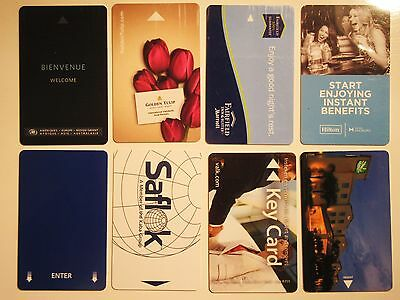 Lot of 8 Hotels Rooms Key cards - Various - Collectibles