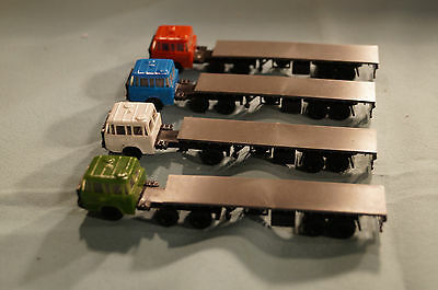 Model railway TT Gauge 4 Vehicles .VEB Plasticard DDR