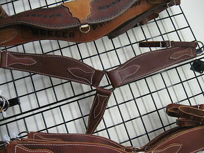Used horse tack Roper Heavy oiled breast collar saddle