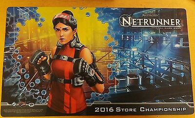 Netrunner - The Card Game - LCG - FFG - 2016 Store Championship Playmat