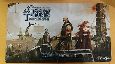 A Game of Thrones - The Card Game - LCG - FFG - 2014 Regional Playmat