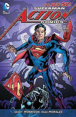 Superman Action Comics: Volume 3: At the End of Days (the New 52) by Grant Morr…