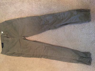J. Crew Skinny Ankle Zip Cargo Pants Size 24 Ankle