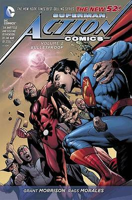 Superman Action Comics: Volume 2: Bulletproof (the New 52) by Grant Morrison (H…