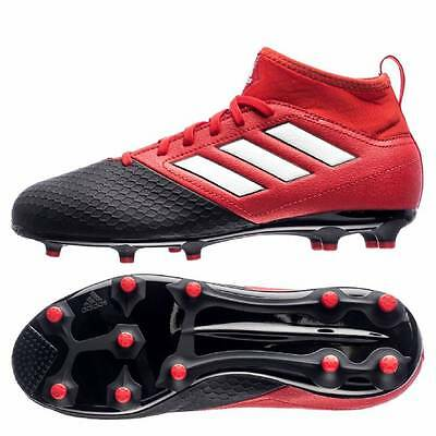 adidas Ace 17.3 FG Firm Ground Football Boots - Red/White/Core Black - Kids