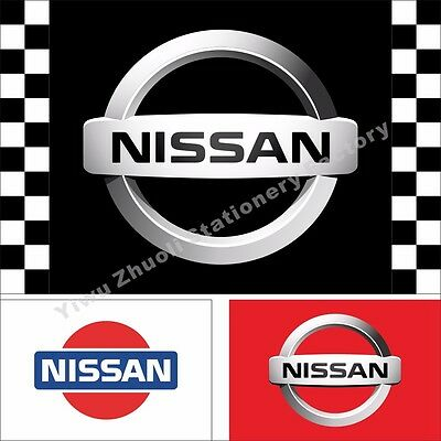 Car Flags New Nissan Flag Nissan Racing Banner Flags 3X5FT Free US Shipping