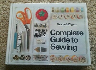 Readers Digest Complete Guide to Sewing 1981