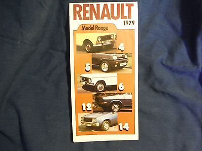Renault Brochure 1979, from 4 to 30