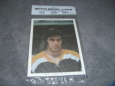 Boston Bruin 1970-71 Sealed Team Issue Photos Pack A