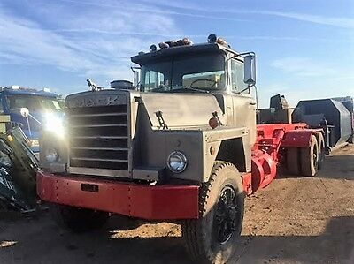 Container Trash Roll Off Truck 1985 Dm 690 Sx Non Electronic