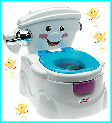 Fisher-Price My Potty Friend WC Training Baby Toilet Seat Toddler Child Musical