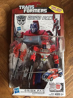 TRANSFORMERS 2013 GENERATIONS 30th IDW Deluxe SERIES 2 ORION PAX AUTOBOT NEW