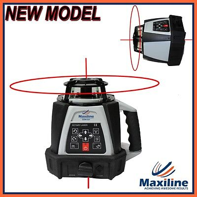 New Model Auto Self Levelling Rotating Rotary Laser Level + Detector 500m GSW201