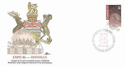 FDC #1092 Expo 86 on Fleetwood cachet.