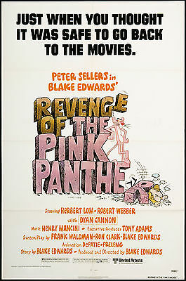Revenge Of The Pink Panther Laminated Mini Poster Print Peter Sellers