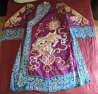 Rare Vintage old Chinese Robe