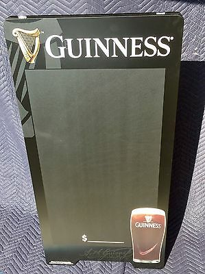 "Guinness Beer Bar A Frame Chalkboard Arth Guinness ""New"" Man Cave Pub"