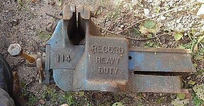 Record Heavy Duty 114 Anvil Quick Release Vice Needs A Service