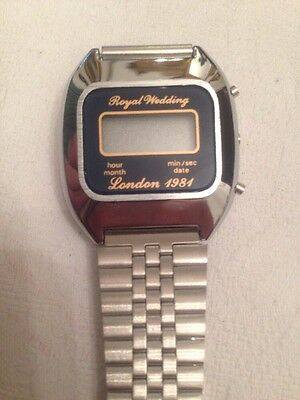 1981 Royal Wedding Watch