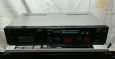 Excellent Aiwa AD-F770 Hi-fi Stereo Tape Cassette Deck Recorder Dragon Chaser