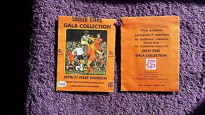FKS Soccer Stars Gala Collection football stickers 70/71