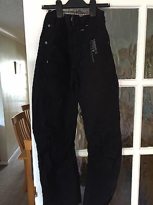 Boys Next BlackTrousers/Jeans, Age 12 Years