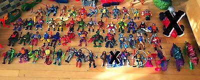 Lot of 52 Vintage He-Man Action Figures - Masters Of The Universe