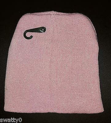 NEW Girls Childrens Kids Beanie Hat ~ Soft Pink ~ Ages 4-10