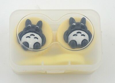 New Anime Studio Ghibli Totoro PVC Plastic Contact Lens Case