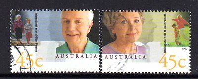 1999 Year Of The Elderly Pair Used 200