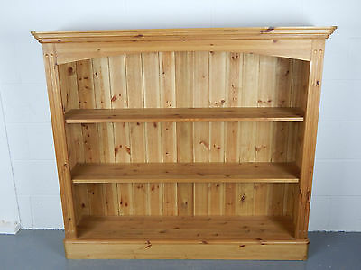 Old Creamery Wide Bookcase Solid Pine Furniture Can Deliver L0316-23/461/01