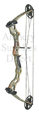 ASD Pro Series Camo Adult Archery Compound Bow Set Kit 50-70lbs Draw Weight