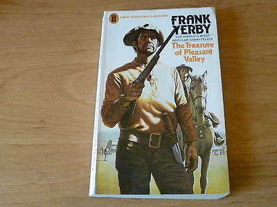 Frank Yerby  The Treasure of Pleasant Valley  p/b Classic Western
