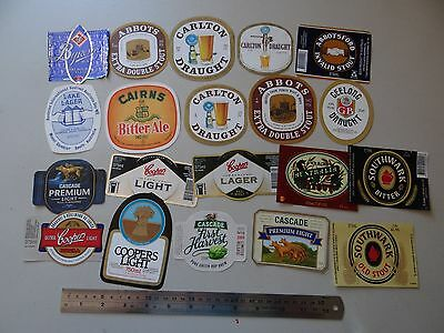 20 x MIXED COLLECTABLE BEER LABELS LB10