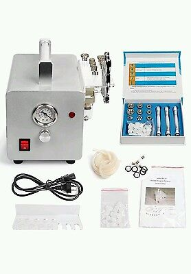 Diamond microdermabrasion machine. Professional clear skin pores.