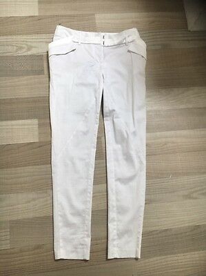 SEDUCE sz8 White Slim Pants BNWT