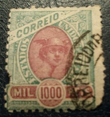 Brazil Stamps. Early  1000 Reis  Used.ref 51