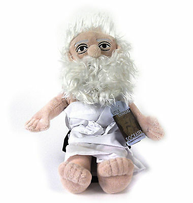 Socrates soft toy - Little Thinkers Doll