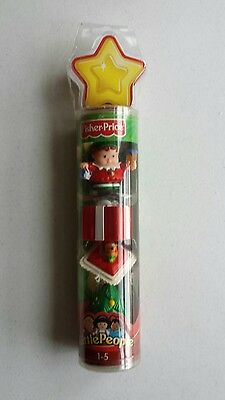 Fisher Price Little People in sealed tube Christmas 2004