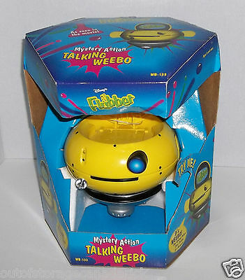 Disney's Flubber Mystery Action Talking Weebo WB-133 - New In Box RARE