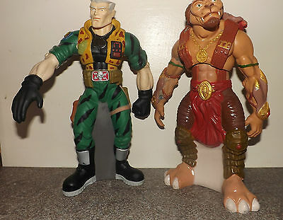 Small Soldiers Chip Hazard and Archer Bubble Bath Containers RARE!