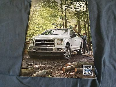 2017 Ford F150 Pickup Trucks Color Brochure Catalog Prospekt