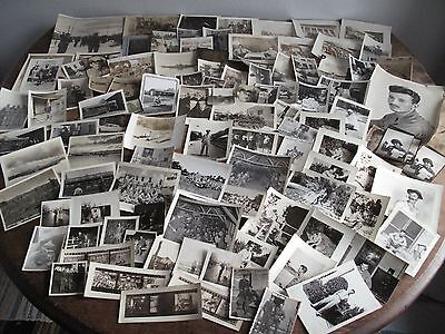 Large Lot WWII Photographs