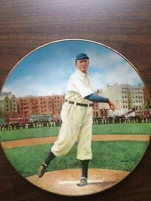 Delphi Collectors Plate, Cy Young - The Perfect Game