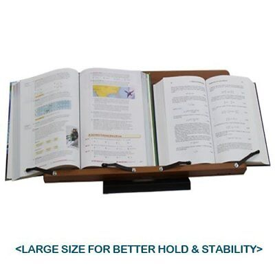 """Wiztem Rosemary Book Stand (23.6 X 11.8"""" Bookstand / Bookstands / Holder / New"""