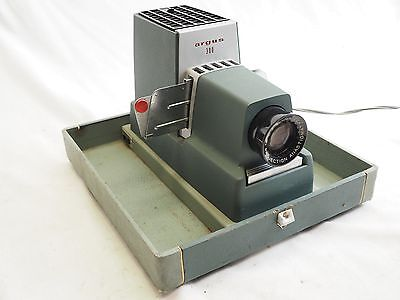 Vintage Argus 300 Automatic Slide Projector Needs Lamp Bulb