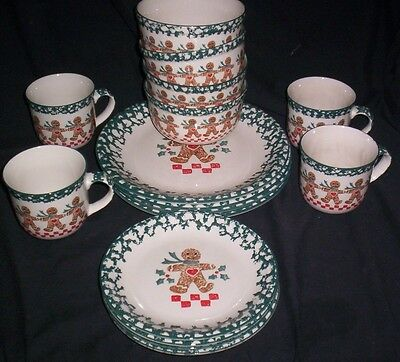 Tienshan Folkcraft Gingerbread 16Pc Set More Available