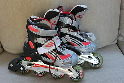 Cyclone Inline Roller Skates Blades for Kids size 3-6