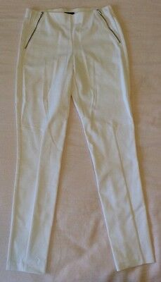 THEORY  White Stretch Pant Size 8