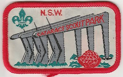 NSW Cataract Scout Park Scout Badge